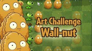 Plants vs. Zombies 2 PAK - Art Challenge Wall-nut (Hidden Mini-Games)