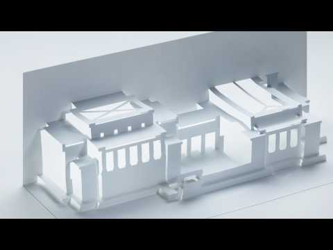 Kirigami Art of Frank Lloyd Wright's Best Architectural Works