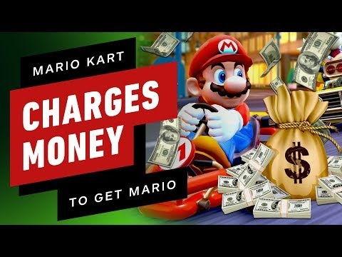 Mario Kart Tour Charges You Money To Play As Mario