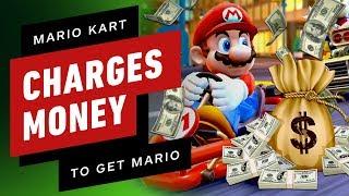 Mario Kart Tour Charges You Money To Play As Mario