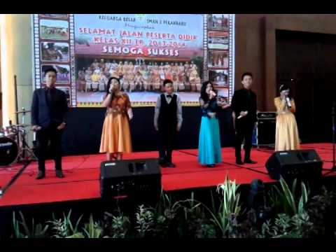 Vocal group, indonesia jaya (farewell party )