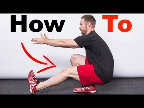 How to Get Your First PISTOL SQUAT (Step-by-Step Progression)