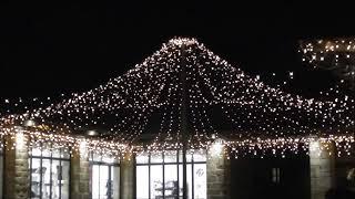 Illuminations de Noël à Rochefort en Terre dans le Morbihan