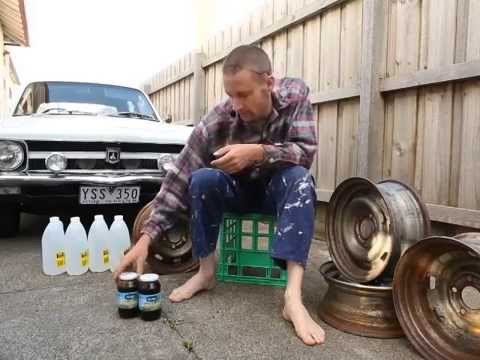 Citric Acid Rust Removal Car Parts