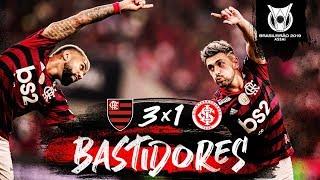 Flamengo 3 x 1 Internacional - Bastidores
