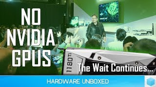 No New Nvidia Gaming GPUs, GTX 1180 Missing @ Computex 2018