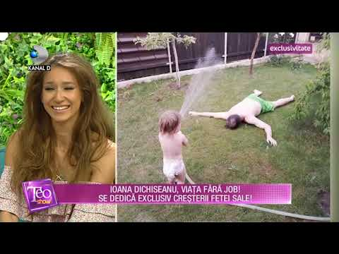 Teo Show - Ioana Dichiseanu, viata fara job! Se dedica exclusiv cresterii fetitei sale! Partea 2