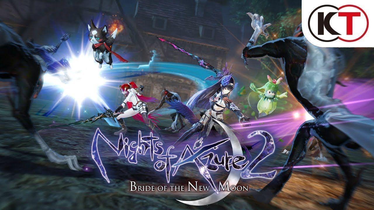 Nights Of Azure 2 Bride Of The New Moon Action Trailer Youtube