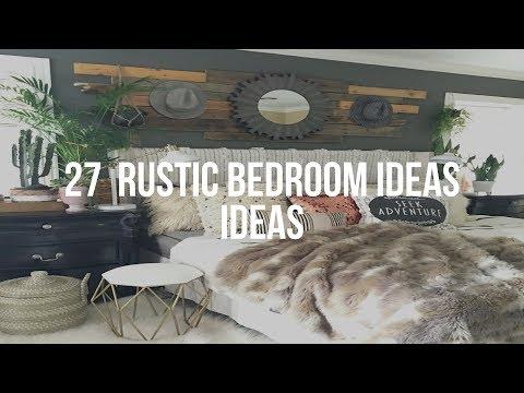 🔴 27 RUSTIC BEDROOM IDEAS Ideas