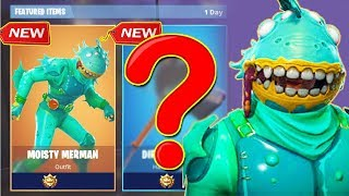 MOISTY MERMAN SKIN COMES WITH BACK BLING! DIRECTOR'S CUT PICKAXE Fortnite Battle Royale