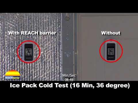 Reach barrier garage door hotcold test youtube reach barrier garage door hotcold test solutioingenieria Choice Image