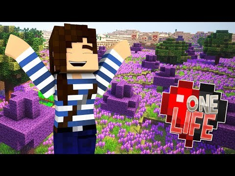 Purple Paradise! - Minecraft One Life SMP...