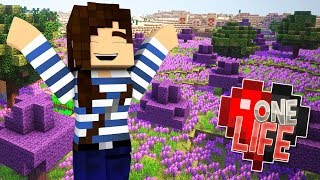 Purple Paradise! - Minecraft One Life SMP (Ep.20)