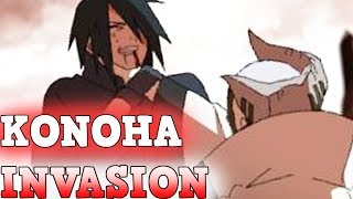 BREAKING!!! Kara's KONOHA INVASION & SASUKE Vs JIGEN  l  BORUTO Chapter 36 & BEYOND!