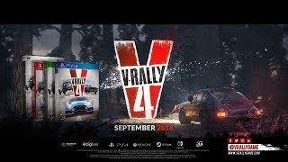 V-RALLY 4 Oficial Trailer (2018) PS4/Xbox One/Switch/PC