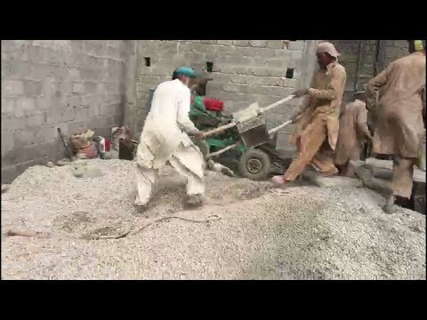 FASTEST WORKERS IN PAKISTAN ||House construction||