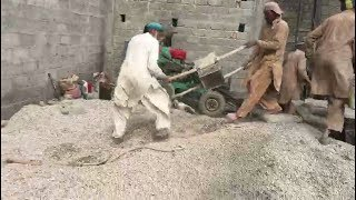 FASTEST WORKERS IN PAKISTAN   House construction  