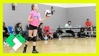 FIRST IN GAME OVERHAND VOLLEYBALL SERVE (Day 1470)