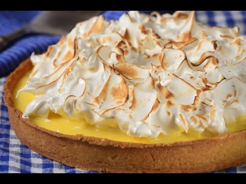 Lemon Meringue Tart Recipe Demonstration - Joyofbaking.com