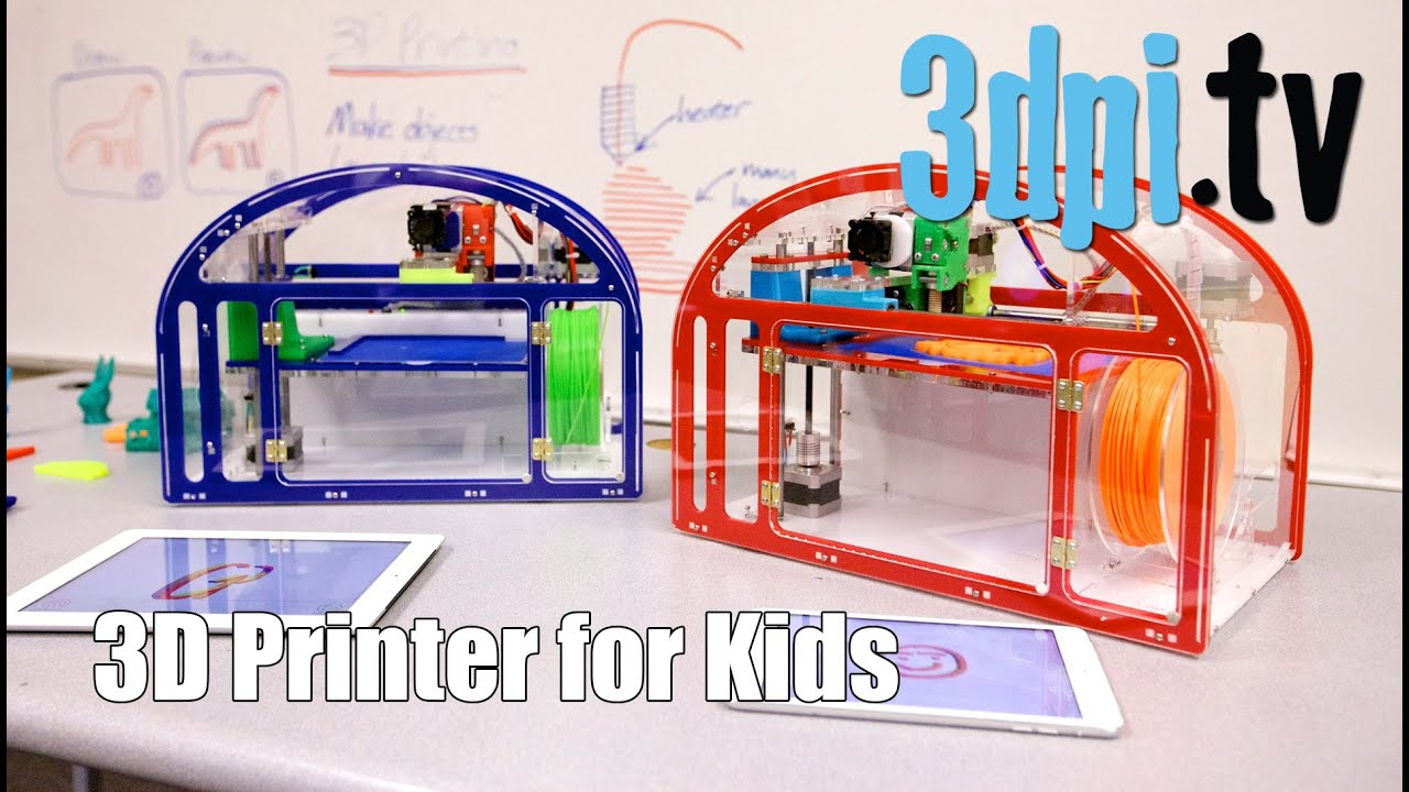 3d printing for kids youtube