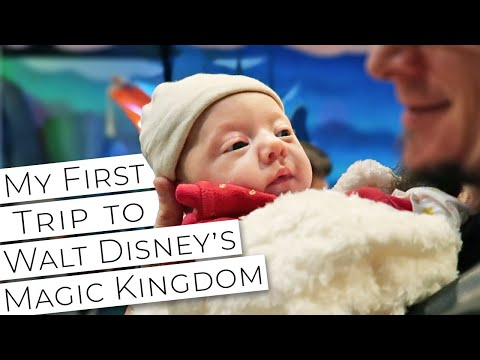 My First Trip To Walt Disney's Magic Kingdom! // 2 Months Old Baby Girl