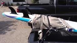 DIY Pickup truck surfboard rack