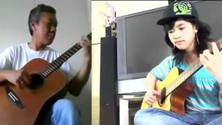"""Tâm Sự Người Lính """"Già""""  -  Song Tấu Guitar"""