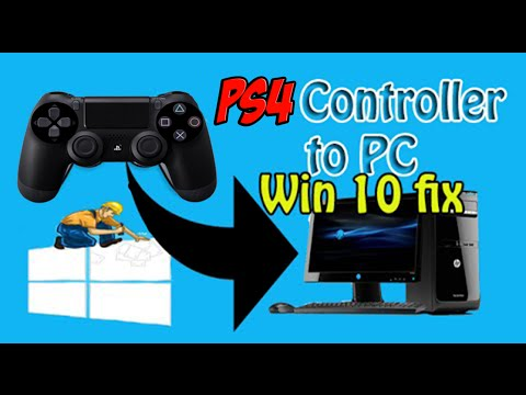 How To Connect PS4 Controller To PC Windows 10