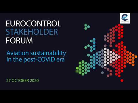 EUROCONTROL Stakeholder forum on aviation sustainability in the post-COVID era