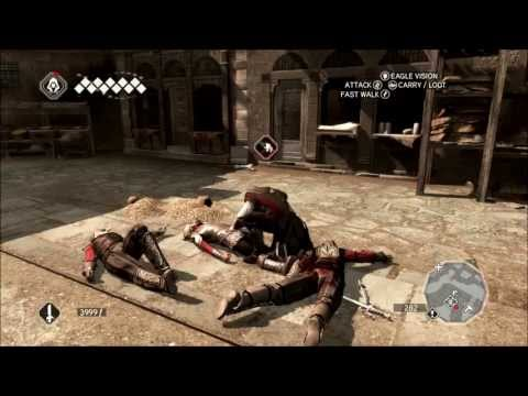 Let's Play Assassin's Creed II Part 18 - Double Air Assassinate
