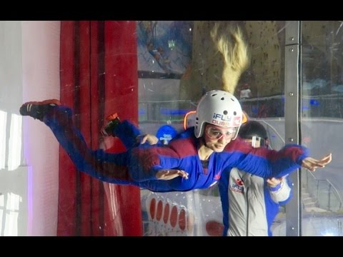 Thumbnail: iFLY INDOOR SKYDIVING !!!