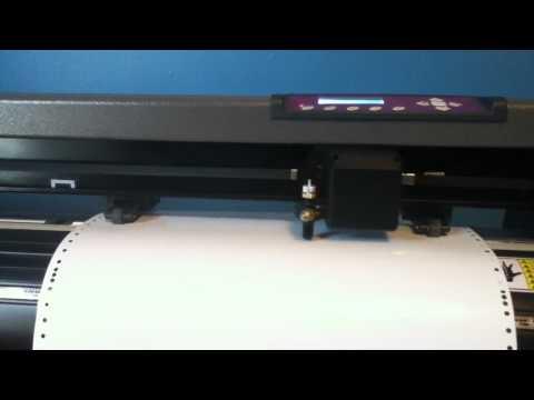 US Cutter MH 871 vinyl cutter problem [**FIXED**]