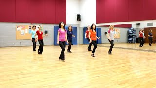 Doing The Walk - Line Dance (Dance & Teach in English & 中文)