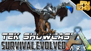 ARK NEW TEK ITEMS AND ROBOTIC COSTUMES (TEK WYVERN SADDLE, SWORD, SHIELD)