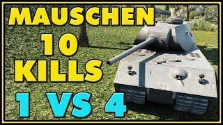 World of Tanks | Mauschen - 10 Kills - 8.9K Damage