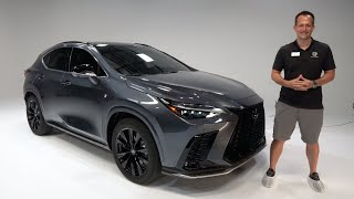 Is the ALL NEW 2022 Lexus NX 350 a better luxury SUV to buy?