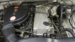 2 Nissan Start Up Rattle KA24E Timing Chain Noise Fix 1989 to 1997