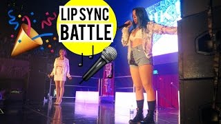 Niki and Gabi LIP SYNC BATTLE! LA SHOW