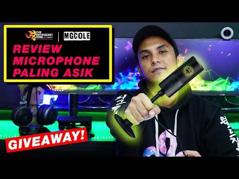 REVIEW MICROPHONE NORAK !   GIVEAWAY!   Magicole   Razer Seiren Emote Indonesia