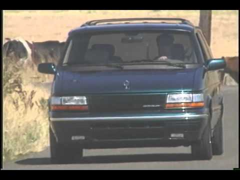Chrysler Town And Country Minivan 1995 Youtube