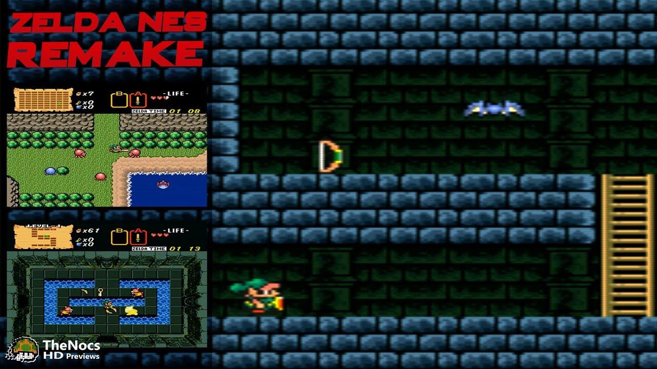 BS The Legend Of Zelda SNES Hack - Zelda NES Remake | TheNocs