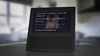 Echo Show: Music Controls