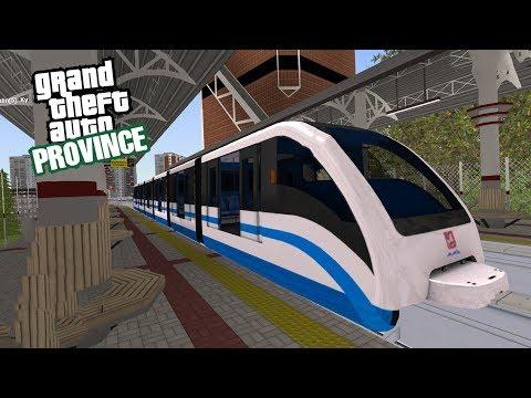 РАБОТАЮ НА МОНОРЕЛЬСЕ В РУССКОЙ GTA! ИГРАЕМ В MTA PROVINCE 0.1.8!