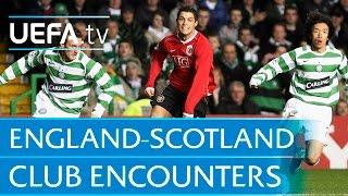 Five classic England-Scotland club encounters