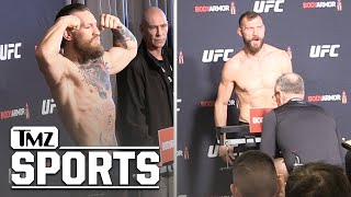 Conor McGregor and Cowboy Weigh In for UFC 246 | TMZ Sports