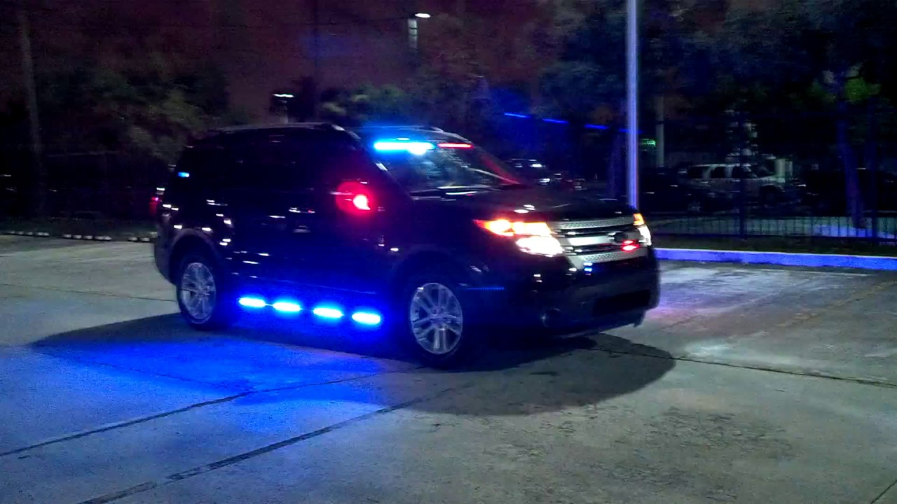 HG2 Emergency Lighting Medley Police Dept Ford Explorer Interceptor SUV