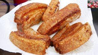 Bí quyết CHIÊN KHÔNG BỊ VĂNG DẦU cho các món ăn - Cá, Thịt Ba rọi, Gà chiên... by Vanh Khuyen