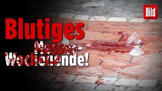 Fünf Messer-Attacken in deutschen Städten   Blutige Nacht zu Sonntag