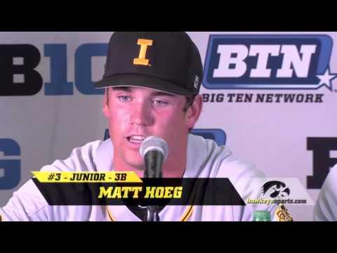 B1G Baseball - Iowa 9, Maryland 8