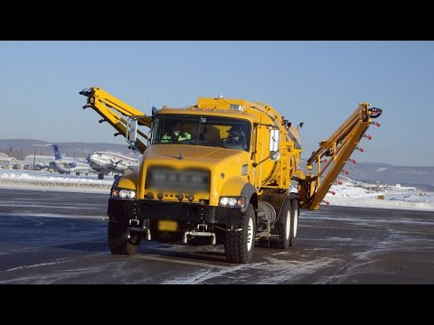 How Do Alaskan Airports Keep Runways Ice-Free?